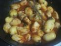 Sauté de dinde aux p de terre en sauce.photos. Img_8322