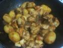 Sauté de dinde aux p de terre en sauce.photos. Img_8323