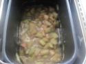 Confiture de rhubarbe au jus d'orange. Img_8515