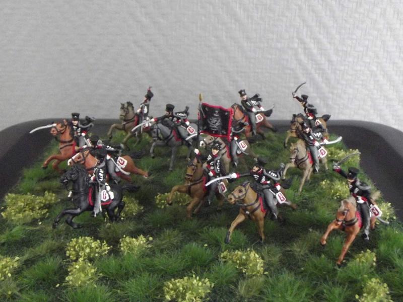 """Hussards """"tête de mort"""" Prussiens  112"""