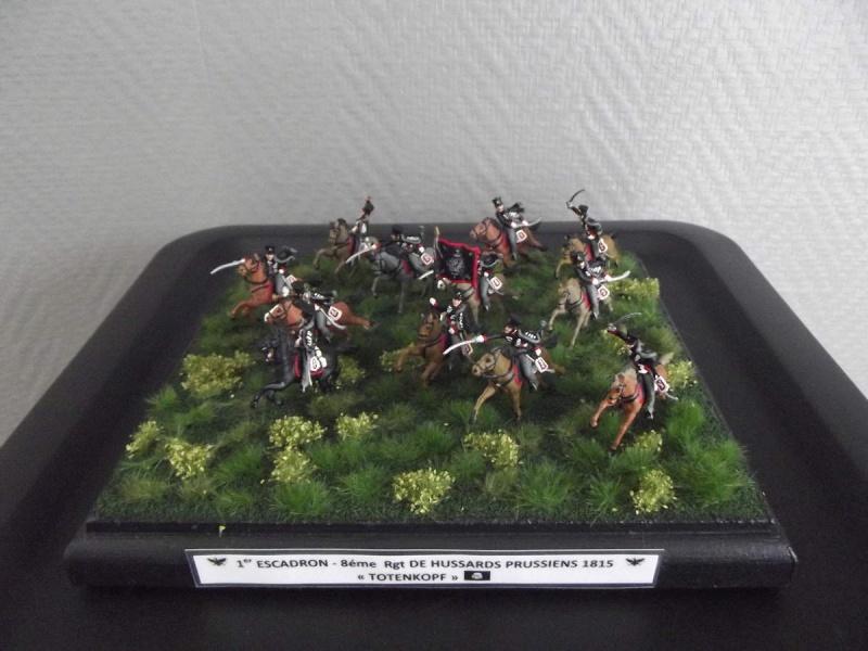 """Hussards """"tête de mort"""" Prussiens  211"""