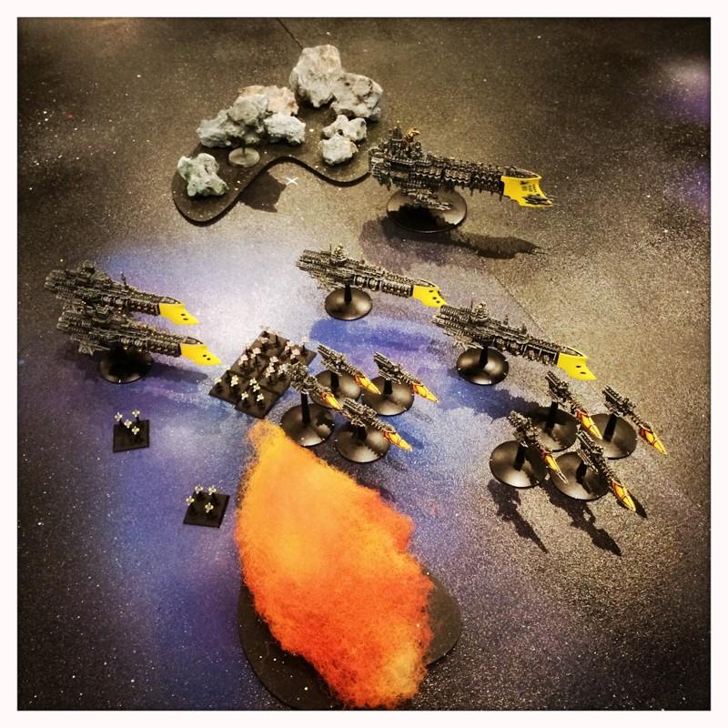 [Navy vs Navy] Mauvaise pioche ! Attaque de l'arrière garde bien foireuse ! 12082012