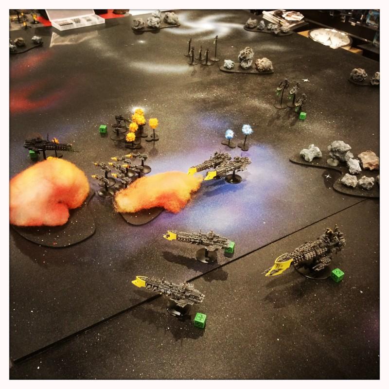 [Navy vs Navy] Mauvaise pioche ! Attaque de l'arrière garde bien foireuse ! 12082015