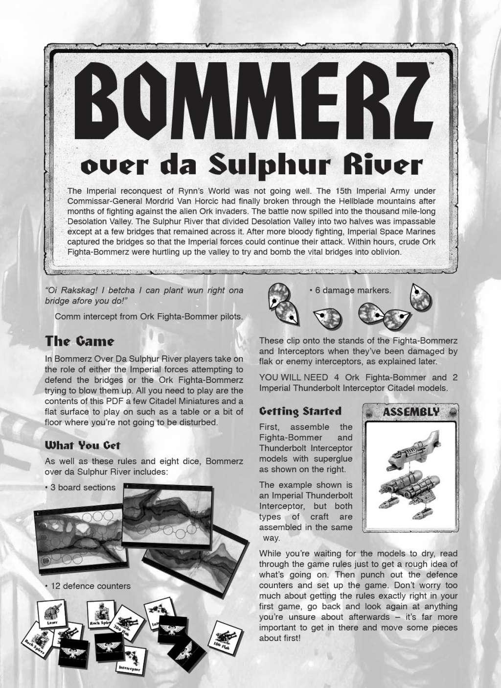 "[BOARDGAME] - ""Bommerz Over da Sulfur River"" remanié Bommer11"