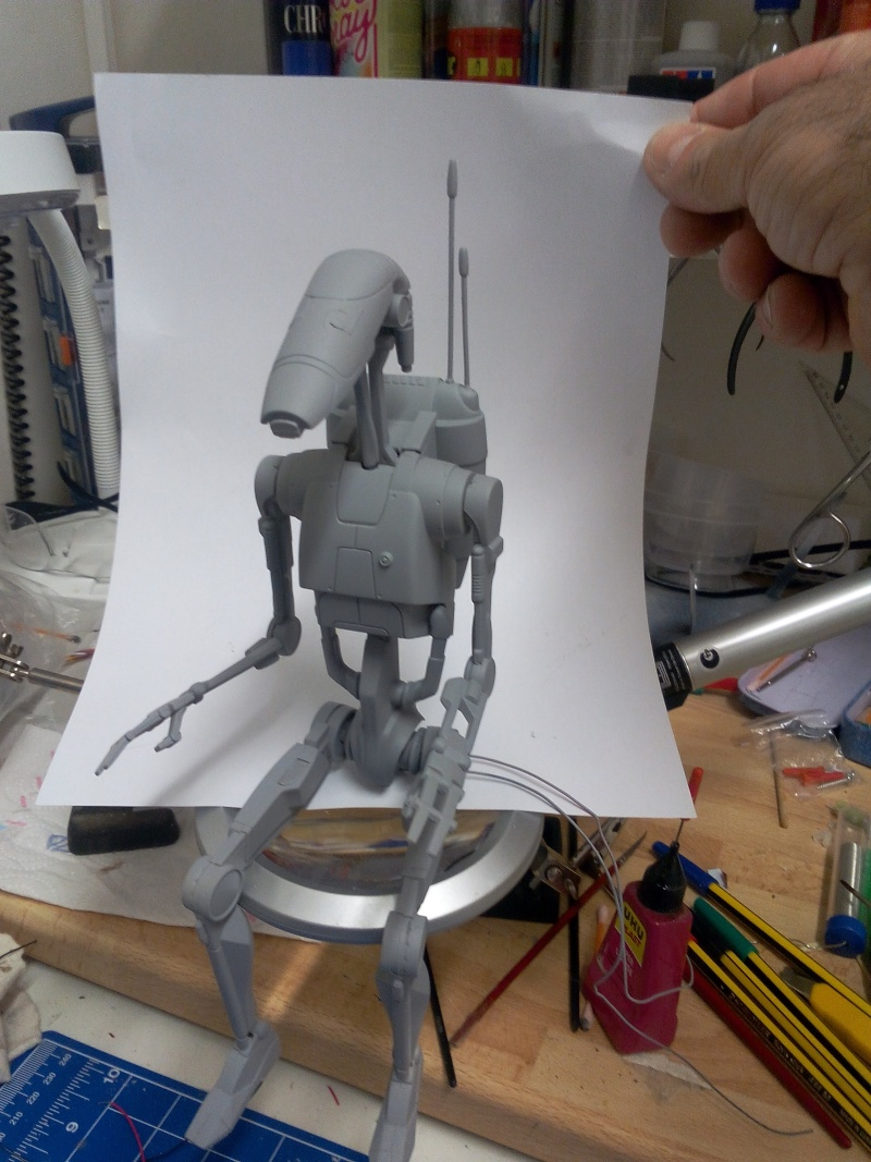 Stap with battle droid 2310