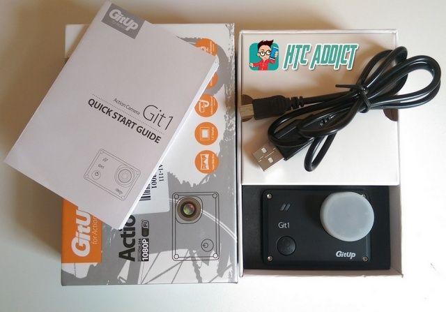 [TEST] Test de la GitUp Git1, une action cam complète à moins de 100 euros Packag10