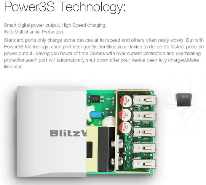 [ACCESSOIRE] Prise en main du chargeur rapide et intelligent BlitzWolf 40W Power310