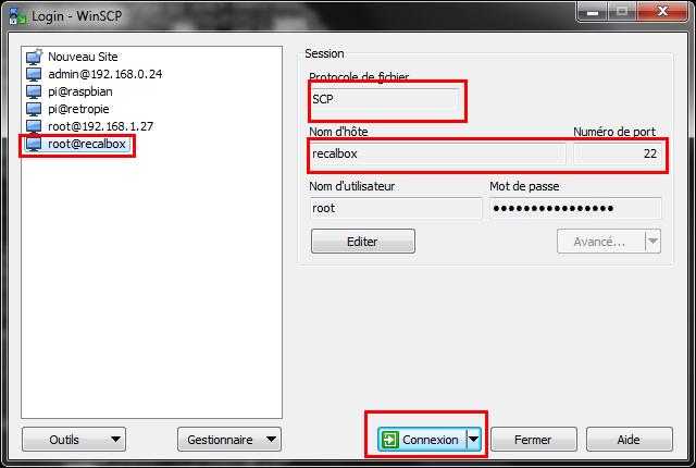 Synchroniser les BestSets Open-Consoles sur votre PI  - Page 3 Winscp10