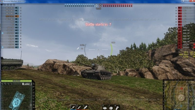 armored warfare clée d'acces anticipé ! Captur12