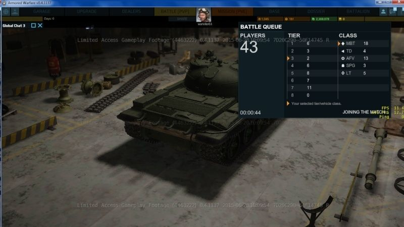 armored warfare clée d'acces anticipé ! Time_b10