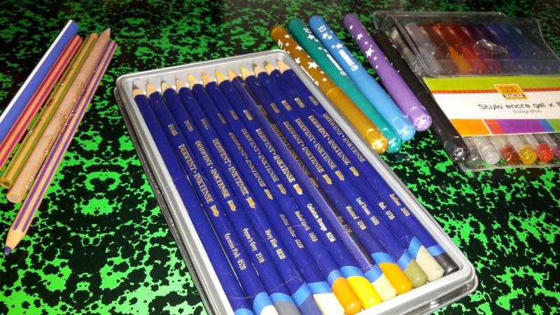 Votre matériel pour dessiner 20150619