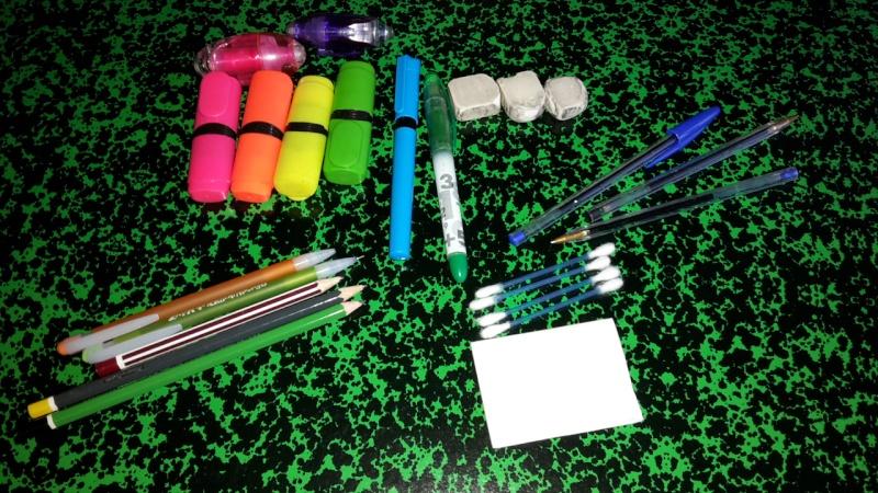 Votre matériel pour dessiner 20150620