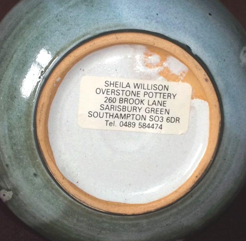 Sheila Willison, Overstone Pottery, Sarisbury 100_2413