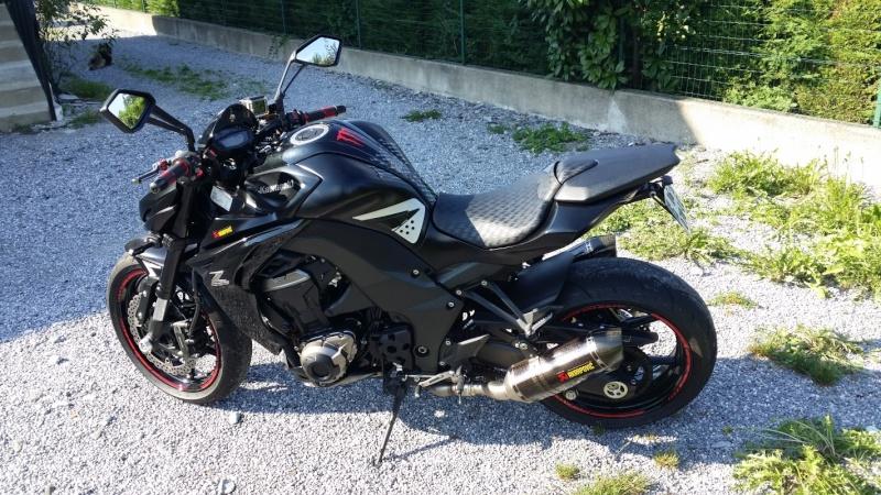 [VENDU] Kawasaki Z1000 noire de 2014, garantie 2018 Bc031010