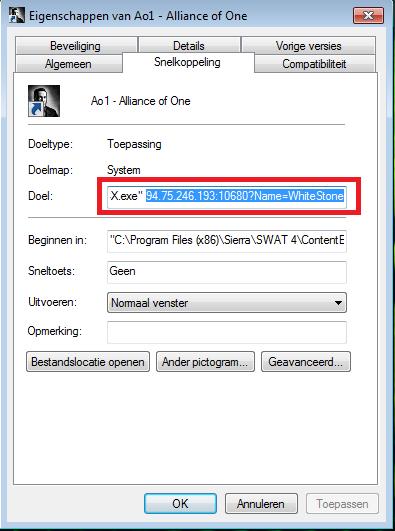 Direct join server through Shortcut Direct10