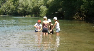 NOVA sortida dissabte 19-09-15 a la cerca d'or amb àbac al riu Segre, Balaguer (Lleida). Anunc110