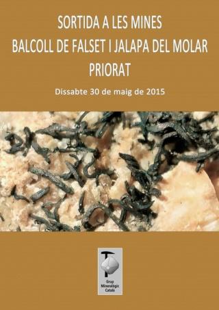 """RESSENYA sortida dissabte 30-05-15 mines """"Balcoll"""" de Falset i """"Jalapa"""" del Molar (Tarragona). Sortid10"""