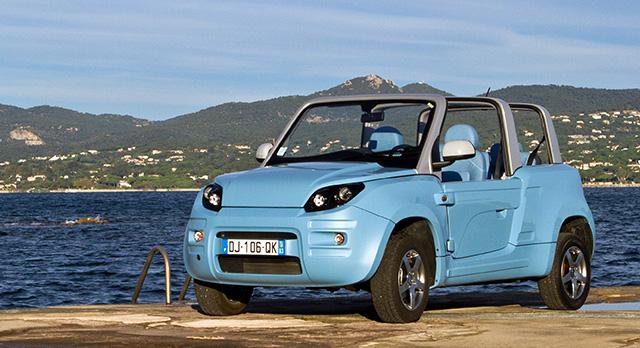 cabriolet électrique Peugeot, Citroën, Bolloré 48691610