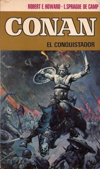Portadas de las colecciones diversas de Conan 1973_e16