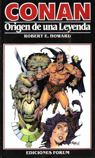 Portadas de las colecciones diversas de Conan 1984_e10