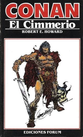 Portadas de las colecciones diversas de Conan 1984_e11