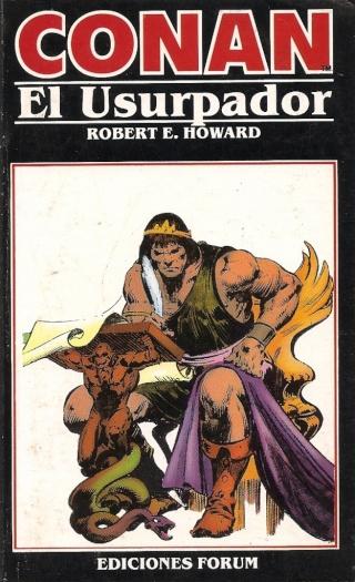 Portadas de las colecciones diversas de Conan 1984_e17