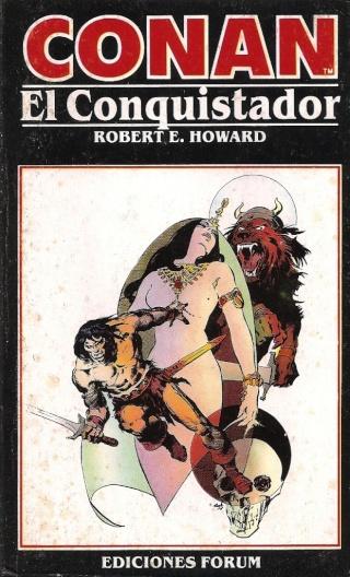 Portadas de las colecciones diversas de Conan 1984_e18