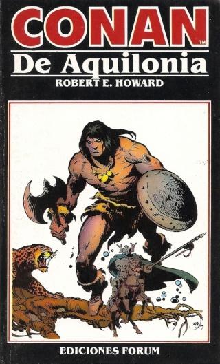 Portadas de las colecciones diversas de Conan 1984_e20