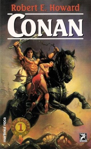 Portadas de las colecciones diversas de Conan 1995_e10