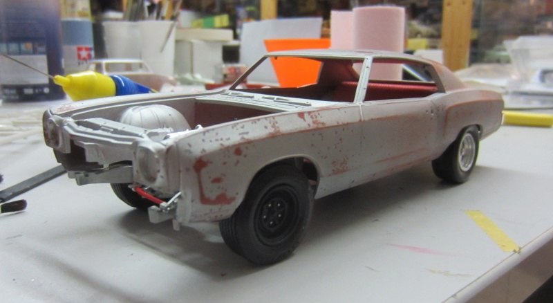 1970 Monte Carlo ( restoration epave style ) Cannet13
