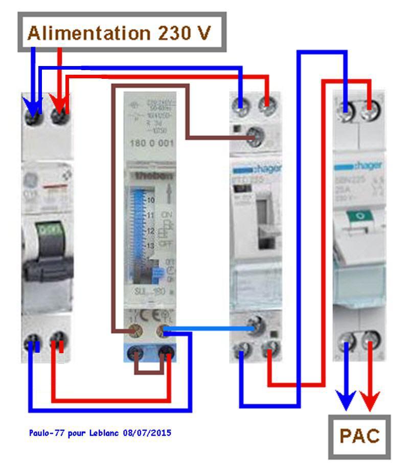 Raccordement élect. PAC pour asservissement filtration Escatop (RÉSOLU) - Page 2 Tablea11
