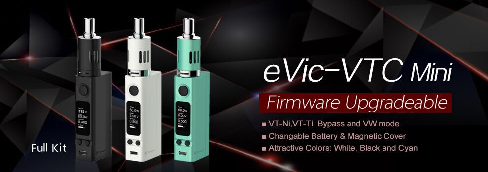 Coming soon : Joyetech eVic VTC Mini 60W Evic-v10