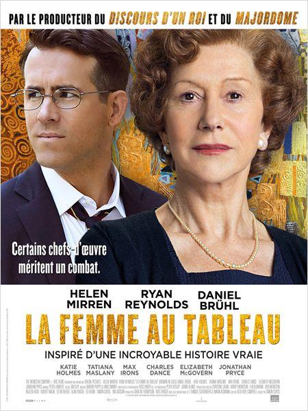 LA FEMME AU TABLEAU Affich11