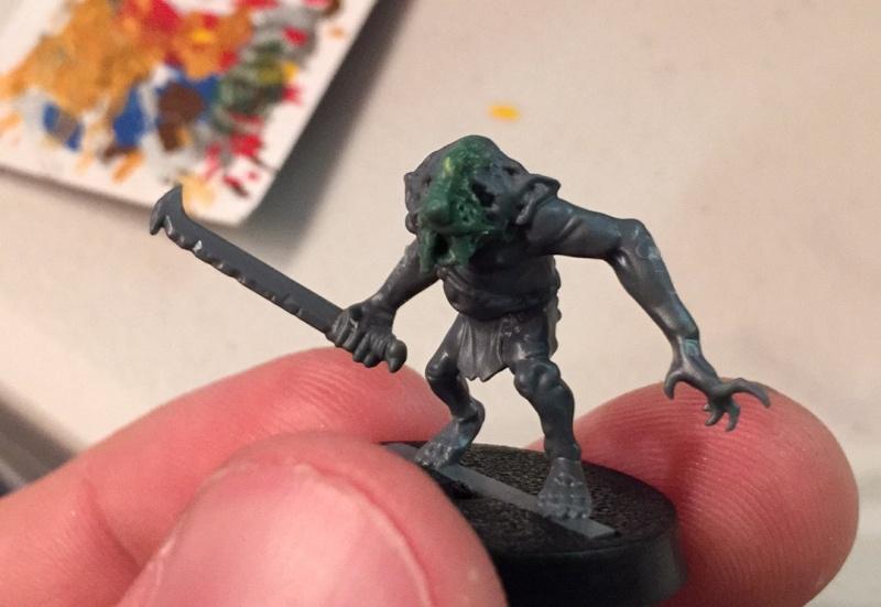 Skaven - The Hobbit goblins into Skaven slaves Img_3911