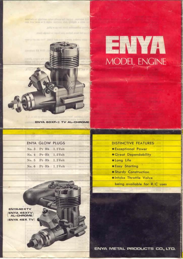 Test run of my ENYA 19 VI BB Enya-110