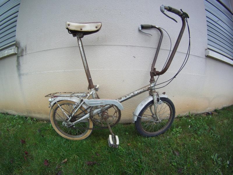Vélo Porteur VERDIN Vintage File0110