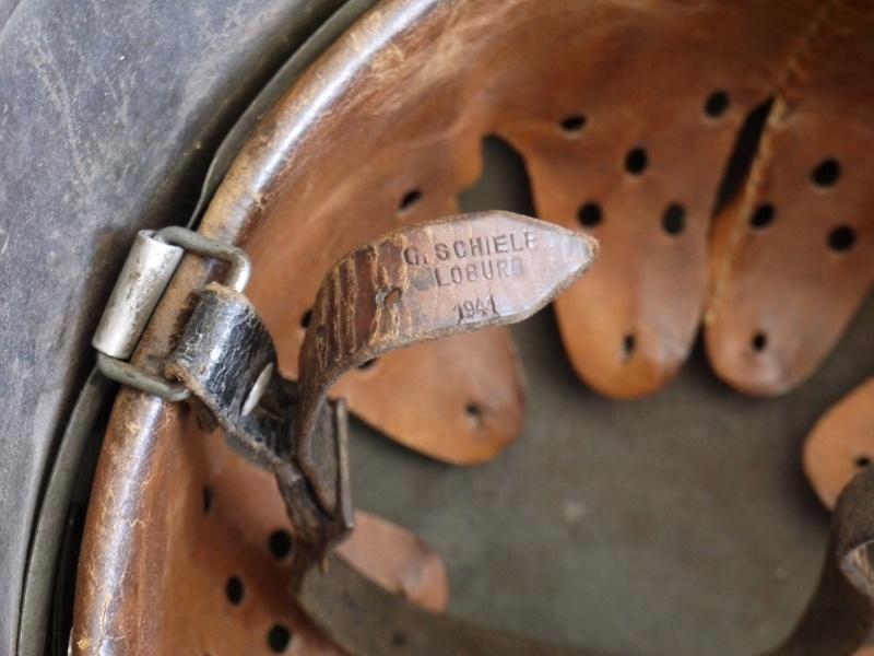 La jugulaire du casque allemand P1030017