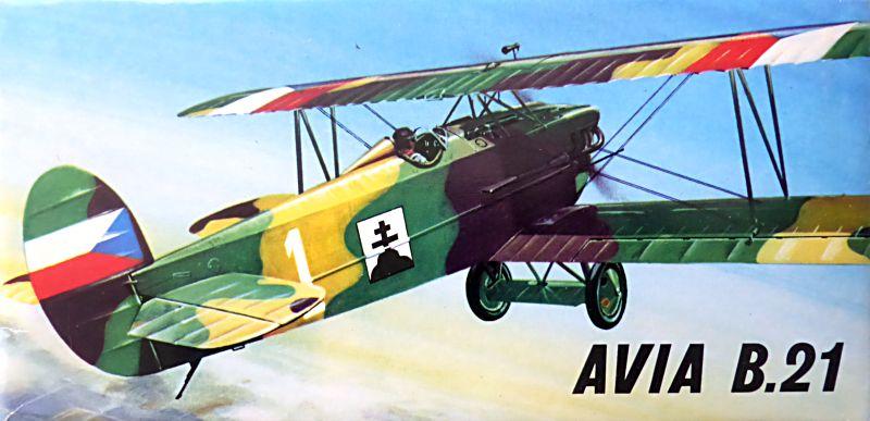 AVIA B-534 - KP - 1/72  Ab21-010
