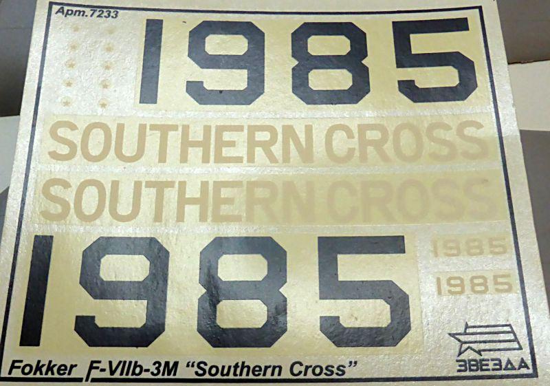 "[Zvesda] - Fokker F-VII ""SOUTHERN CROSS"" 1928 Vol Trans-Pacifique vers l'Australie F-vii-15"