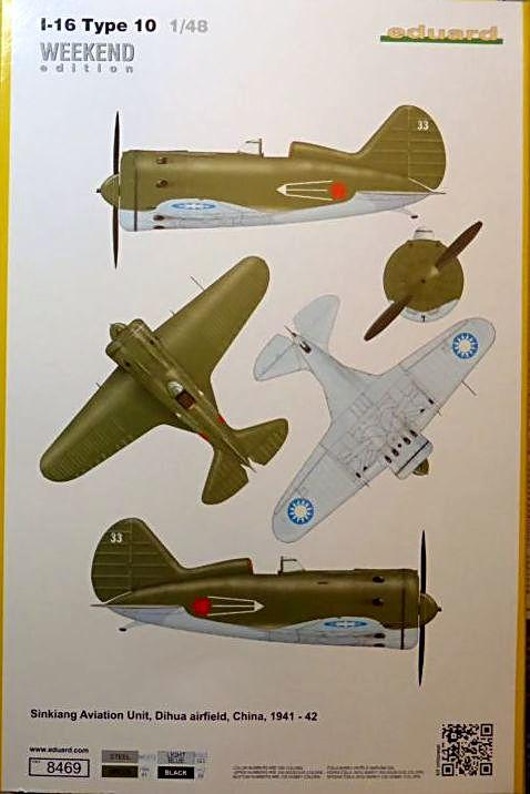 [eduard] Polikarpov  I-16 type 10 Polika11