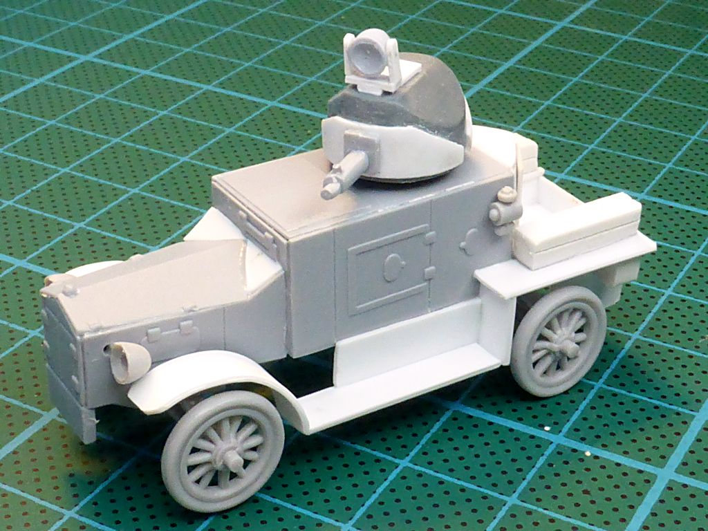 Rolls Royce British Armored Car  Meng 1/35 Tfc-1310
