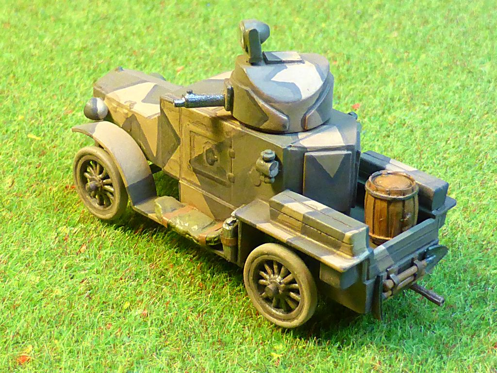 Rolls Royce British Armored Car  Meng 1/35 Tfc-2510
