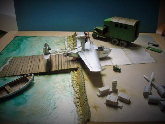 Hydroplane SPL et camion atelier Dsc02837