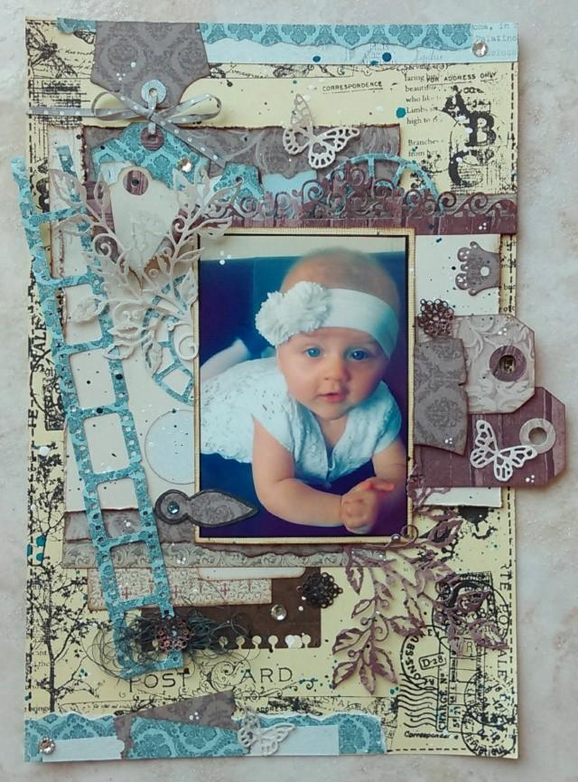 une magnifique page en atelier avec Val Imag6015