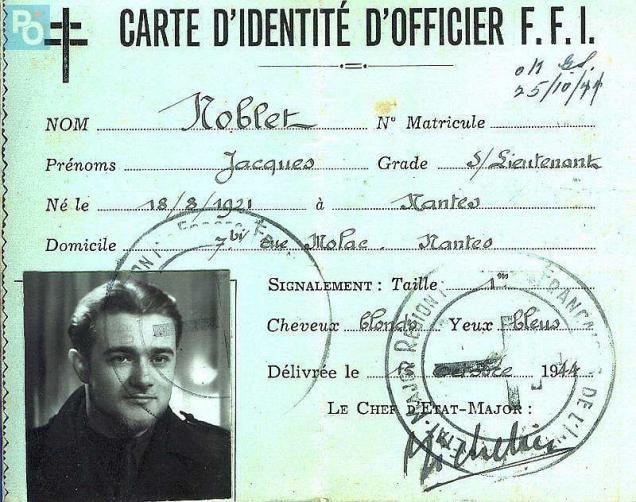 Jacques Noblet Officier F.F.I de la région Nantaise (M3)  Photo-10