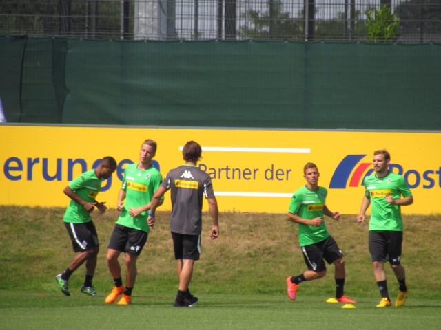 Trainingsauftakt der Saison 2015/2016... Img_8211