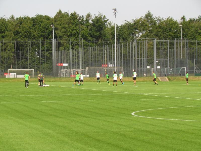Erstes Training mit Nico Schulz - Trainingsbericht vom 19.08.2015 Img_9520