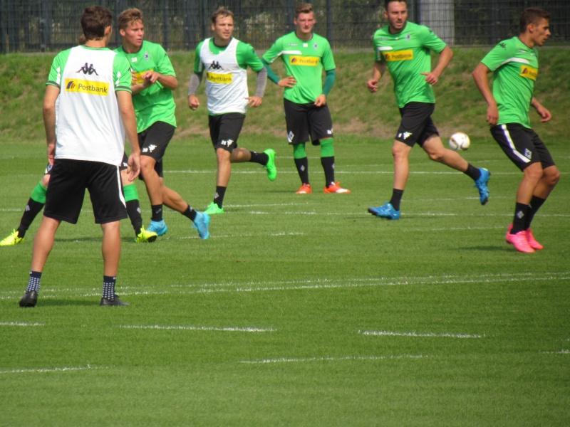 Erstes Training mit Nico Schulz - Trainingsbericht vom 19.08.2015 Img_9529
