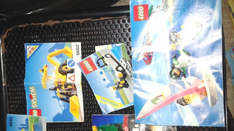 lotto istruzioni e cataloghi  LEGO anni 80-90 20150812