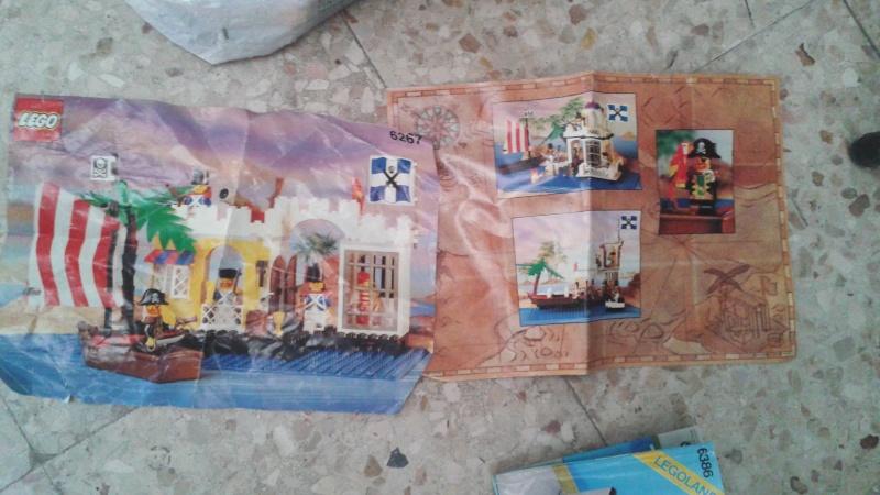lotto istruzioni e cataloghi  LEGO anni 80-90 20150814